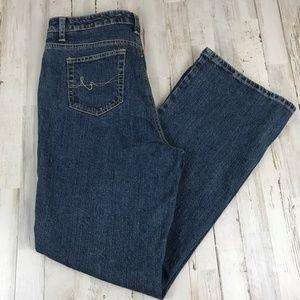 St. John's Bay Womens Jeans Blue Secretly Slender